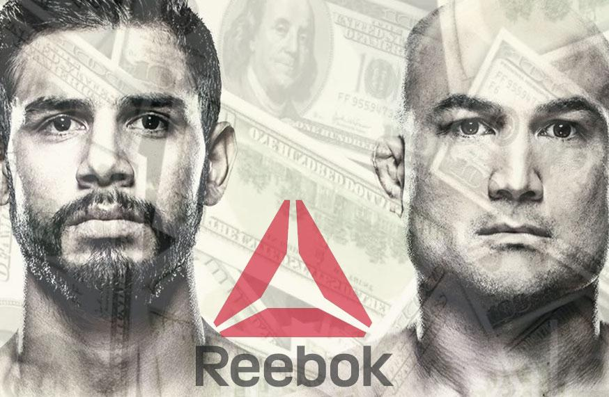 UFC Fight Night 103 - Les salaires Reebok