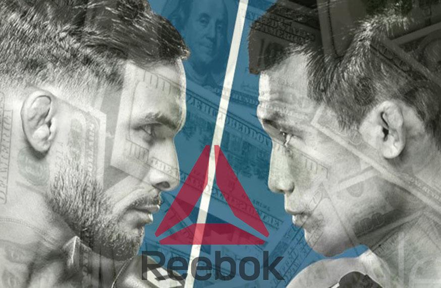 UFC Fight Night 104 - Les salaires Reebok