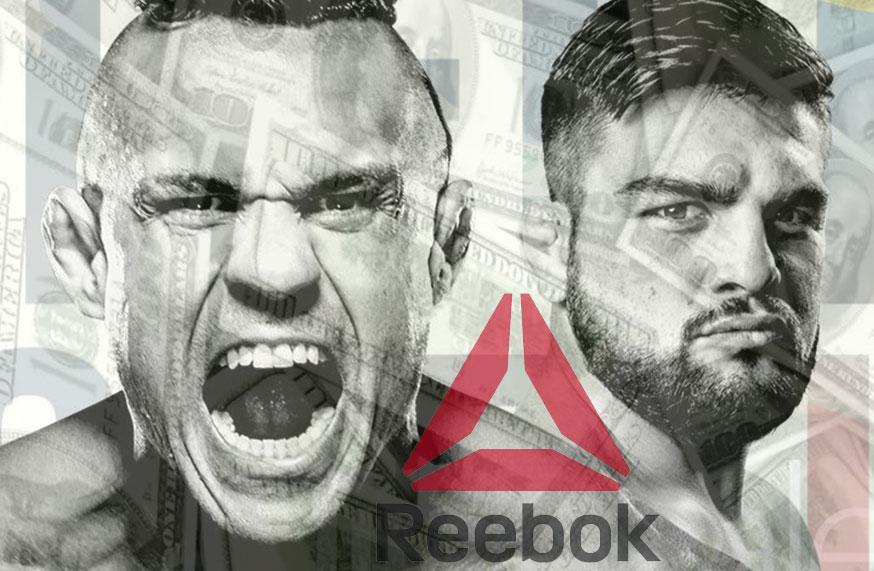 UFC Fight Night 106 - Les salaires Reebok