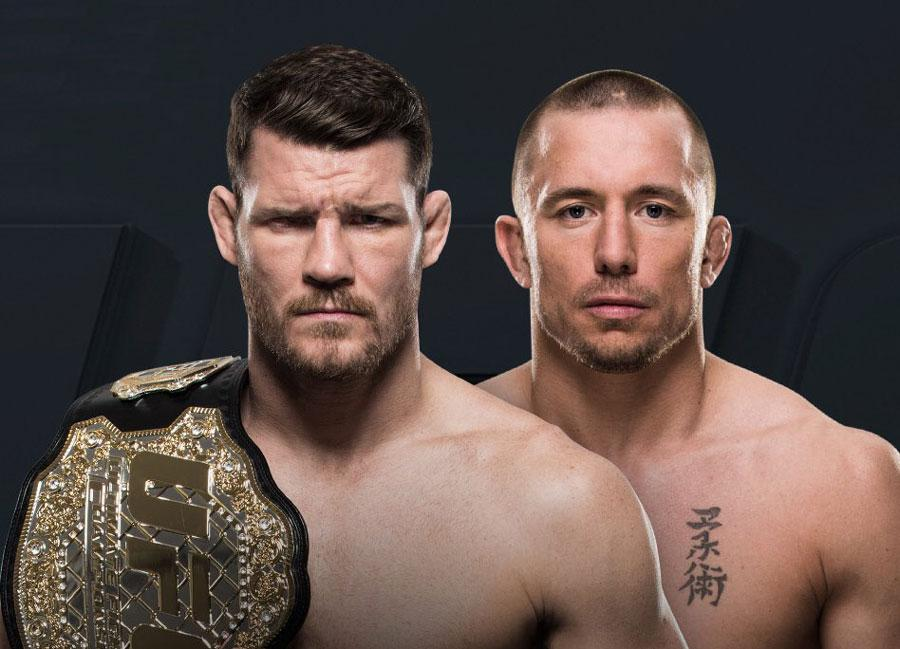 UFC 217 - Michael Bisping vs George St. Pierre