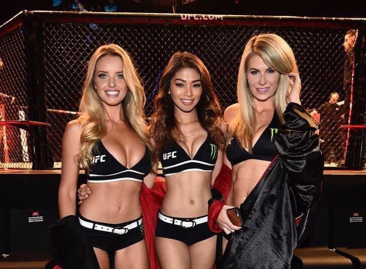 UFC 221 - Les Rings Girls