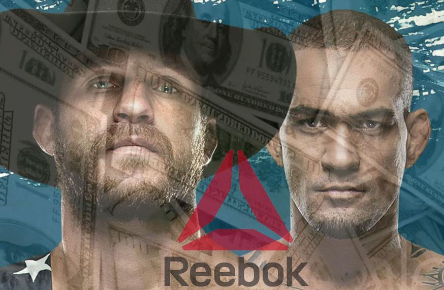 UFC Fight Night 126 - Les salaires Reebok