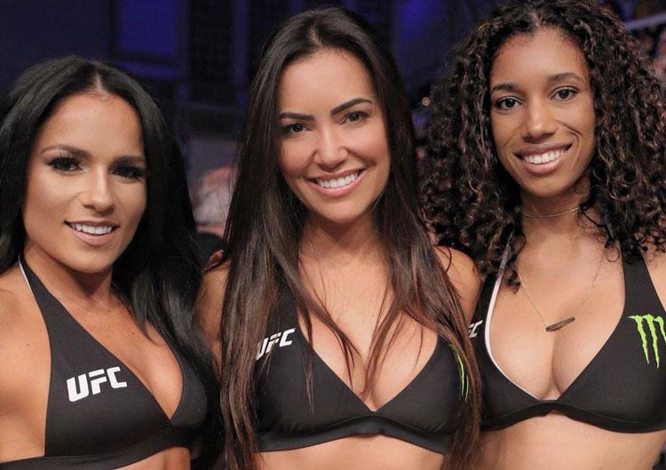 UFC Fight Night 128 - Les rings girls