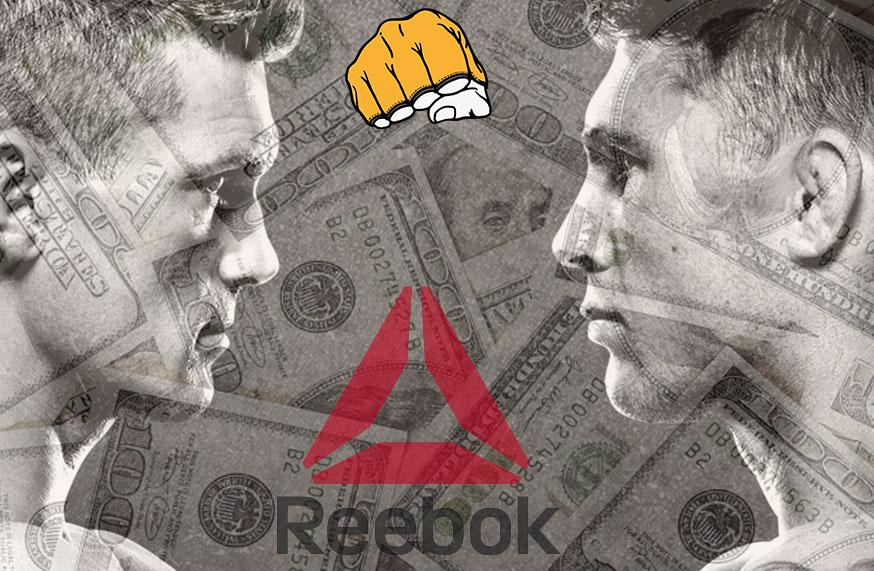 UFC Fight Night 130 - Les salaires Reebok