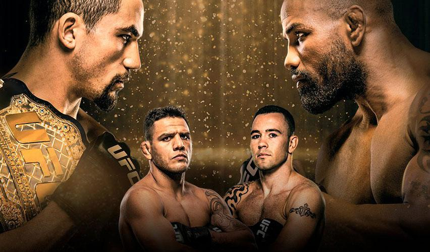 UFC Fight Night 131 - Les salaires Reebok