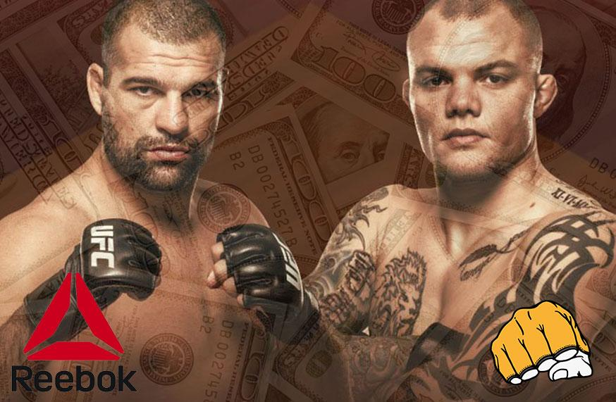 UFC Fight Night 134 - Les salaires Reebok