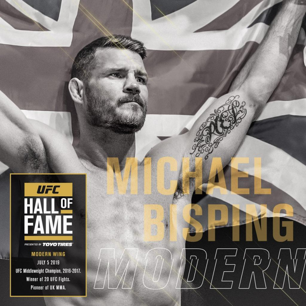 UFC Hall of Fame - Michael Bisping