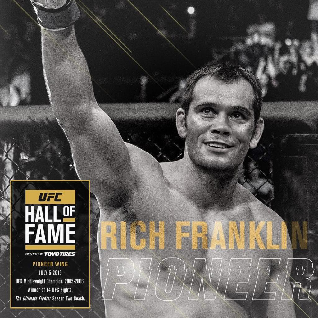 UFC Hall of Fame - Rich Franklin