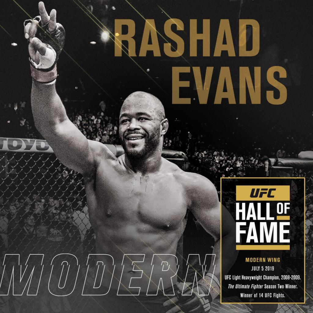 UFC All of Fame - Rashad Evans