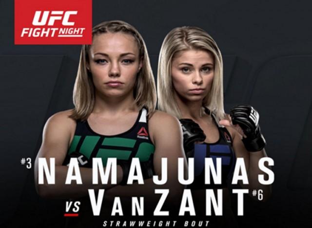 UFC FIGHT NIGHT 80 - NAMAJUNAS VS. VANZANT