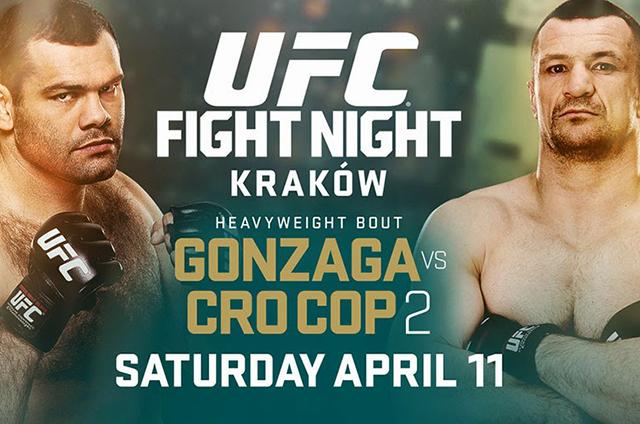 UFC FIGHT NIGHT 64 - GONZAGA V...