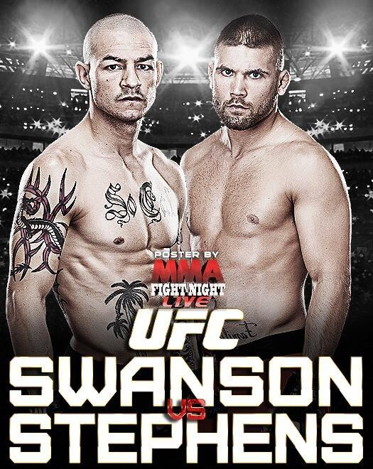 UFC FIGHT NIGHT 44 - SWANSON V...