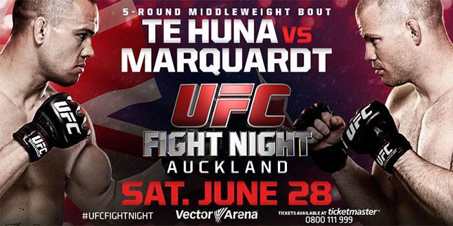 UFC FIGHT NIGHT 43 - TE HUNA V...