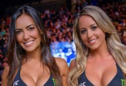 UFC Fight Night 130 - Les rings girls