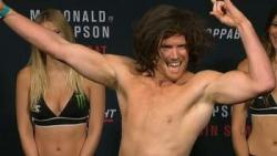 UFC Fight Night 89 - Elias Theodorou contre Sam Alvey
