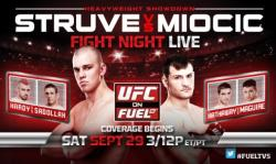 UFC ON FUEL TV 5 - STRUVE VS. MIOCIC