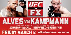 UFC ON FX 2 - ALVES VS. KAMPMANN