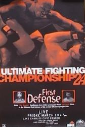 UFC 24 - FIRST DEFENSE