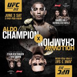 UFC 212 - ALDO VS. HOLLOWAY