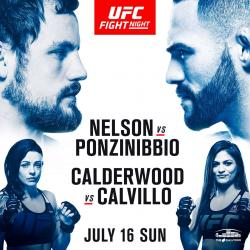 UFC FIGHT NIGHT 113 - NELSON VS. PONZINIBBIO