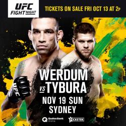 UFC FIGHT NIGHT 121 - WERDUM VS. TYBURA