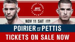 UFC FIGHT NIGHT 120 - POIRIER VS. PETTIS