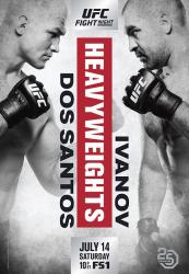 UFC FIGHT NIGHT 133 - DOS SANTOS VS IVANOV
