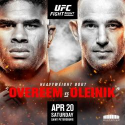 UFC on ESPN+ 7 - OVEREEM VS. OLEINIK