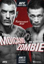UFC on ESPN+ 12 - MOICANO VS. KOREAN ZOMBIE