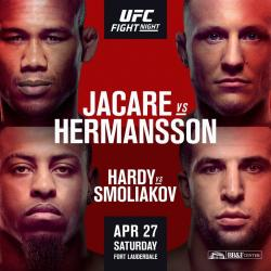 UFC on ESPN+ 8 - JACARE VS. HERMANSSON