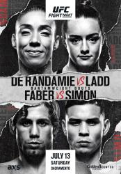 UFC on ESPN+ 13 - RANDAMIE VS. LADD
