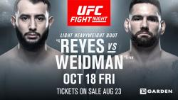 UFC on ESPN 6 - REYES VS. WEIDMAN