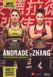UFC on ESPN+ 15 - ANDRADE VS. ZHANG