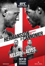 UFC on ESPN+ 18 - HERMANSSON VS. CANNONIER