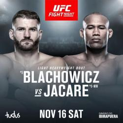 UFC on ESPN+ 22 - BLACHOWICZ VS. JACARE