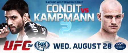 UFC FIGHT NIGHT 27 - CONDIT VS. KAMPMANN 2