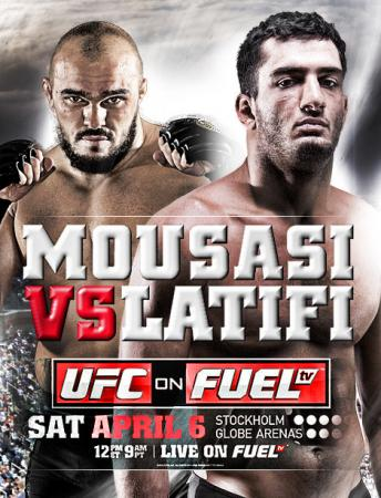 UFC ON FUEL TV 9 - MOUSASI VS. LATIFI