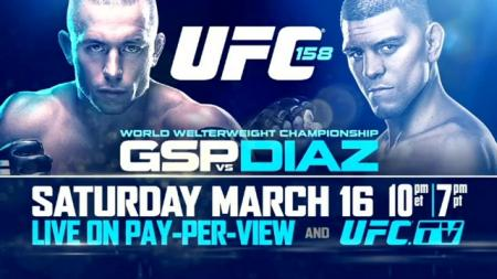 UFC 158 - ST. PIERRE VS. DIAZ