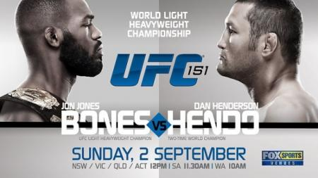 UFC 151 - EVENT ANNULE