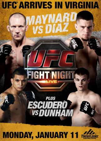 UFC FIGHT NIGHT 20 - MAYNARD VS. DIAZ