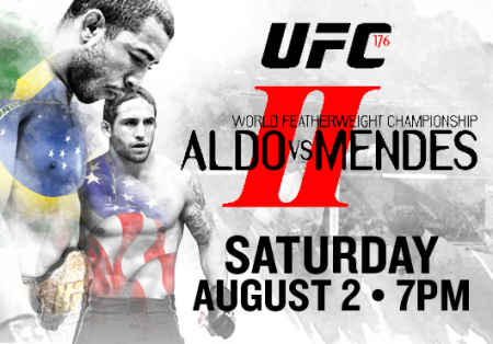 UFC 176 - EVENT ANNULE