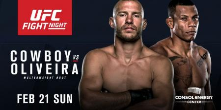 UFC FIGHT NIGHT 83 - CERRONE VS. OLIVEIRA