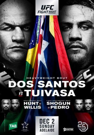 UFC FIGHT NIGHT 142 - DOS SANTOS VS. TUIVASA