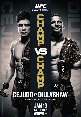 UFC ON ESPN+ 1 - CEJUDO VS. DILLASHAW