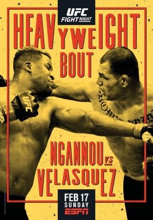 UFC on ESPN 1 - NGANNOU VS. VELASQUEZ
