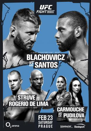 UFC on ESPN+ 3 - BLACHOWICZ VS. SANTOS