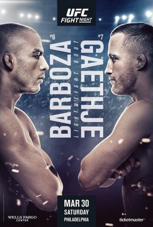 UFC on ESPN 2 - BARBOSA VS. GAETHJE