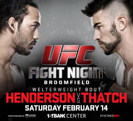UFC FIGHT NIGHT 60 - HENDERSON VS. THATCH