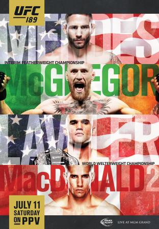 UFC 189 - MENDES VS. MCGREGOR