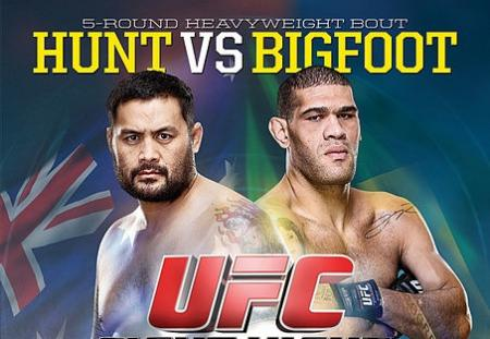UFC FIGHT NIGHT 33 - HUNT VS. BIGFOOT